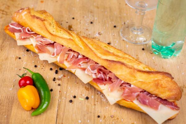 Sandwich basquais