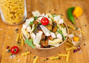 Salade de pâtes la provençale