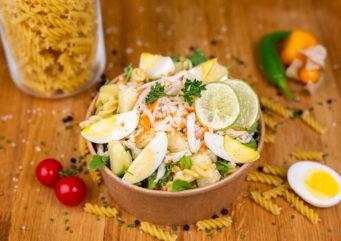 Salade de pâtes la tropicale