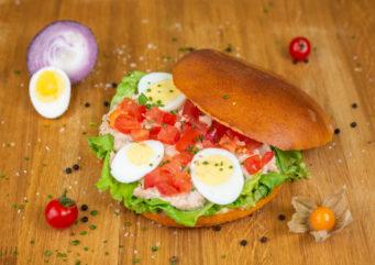 Sandwich Bagnat au thon