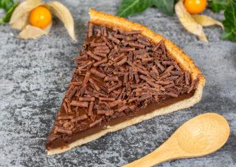 TARTE groumande au chocolat