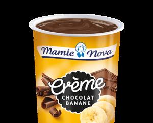 Crème dessert Chocolat banane