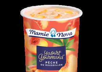 Crème dessert Pêche du roussillon