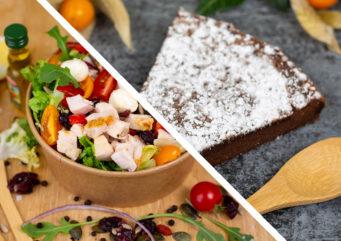 Formule salade verte & dessert