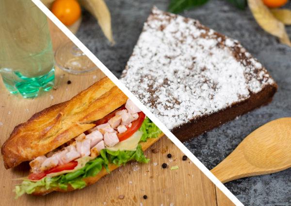 Formule sandwich & dessert